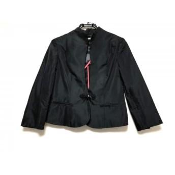【中古】 ヴィヴィアンタム VIVIENNE TAM ジャケット サイズ1 S レディース 黒 ビーズ