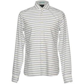 《期間限定セール開催中!》SCOTCH & SODA メンズ シャツ ホワイト XL コットン 100%