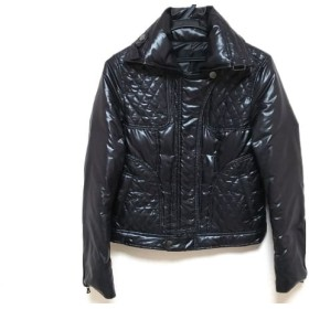 【中古】 アイシービー ICB ダウンジャケット サイズ11 M レディース 黒 キルティング/ジップアップ