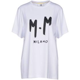 《期間限定 セール開催中》MINO MAESTRELLI レディース T シャツ ホワイト XS コットン 100%