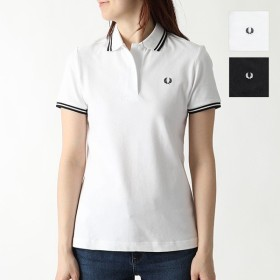 FRED PERRY フレッドペリー G3600 TWIN TIPPED FRED PERRY SHIRT 鹿の子 半袖 ポロシャツ カラー2色 レディース