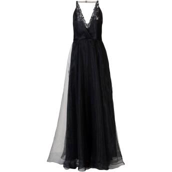 《セール開催中》MIKAEL AGHAL レディース ロングワンピース&ドレス ブラック 4 ポリエステル 100%