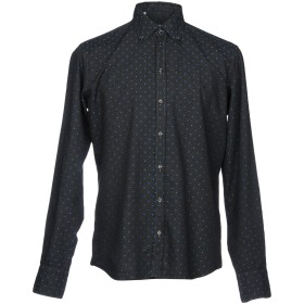 《セール開催中》MAESTRAMI メンズ シャツ ブラック M コットン 100%