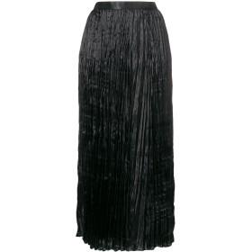 Junya Watanabe ハイウエスト プリーツスカート - ブラック