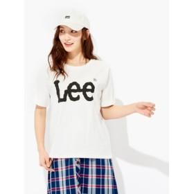 Lee ロゴプリントTシャツ レディース オフシロ