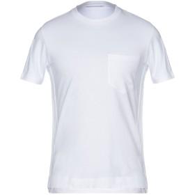 《期間限定セール開催中!》ERMANNO SCERVINO メンズ T シャツ ホワイト 46 94% コットン 6% ポリウレタン