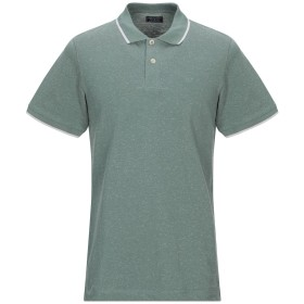 《期間限定 セール開催中》JACK & JONES PREMIUM メンズ ポロシャツ グリーン L コットン 90% / ポリエステル 10%