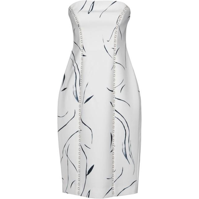 《期間限定セール開催中!》KEEPSAKE レディース ミニワンピース&ドレス ホワイト S ポリエステル 100%