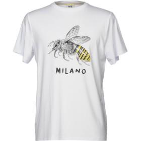《セール開催中》MINO MAESTRELLI メンズ T シャツ ホワイト S 100% コットン