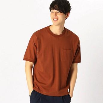 【SALE(三越)】<COMME CA ISM (メンズ)> Tシャツ(4760TL14) ブラウン 【三越・伊勢丹/公式】