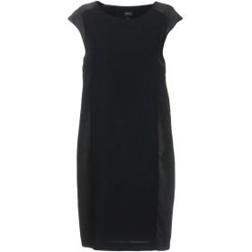 《セール開催中》ARMANI JEANS レディース ミニワンピース&ドレス ブラック 38 ポリエステル 100% / バージンウール / レーヨン