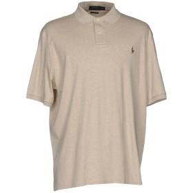 《期間限定セール開催中!》POLO RALPH LAUREN メンズ ポロシャツ ベージュ S コットン 100%