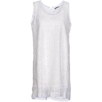 《セール開催中》HANITA レディース ミニワンピース&ドレス ホワイト XS ポリエステル 100%
