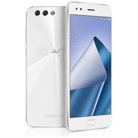 ZenFone 4(ZE554KL)ムーンライトホワイト「ZE554KL-WH64S6」 Snapdragon 660 5.5型・メモリ/ストレージ:6GB/64GB nanoSIMx1 nanoSIM or micro SDx1 ドコモ/au/ソフトバック/YmobileSIM対応 SIMフリースマートフォン
