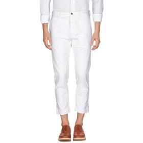 《期間限定セール開催中!》(+) PEOPLE メンズ パンツ ホワイト 33 コットン 97% / ポリウレタン 3%