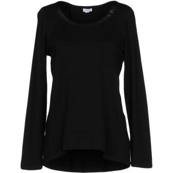 《セール開催中》SPLENDID レディース T シャツ ブラック M 指定外繊維(テンセル) 92% / ポリウレタン 8% / ポリウレタン