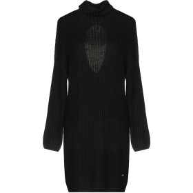 《期間限定セール中》GUESS BY MARCIANO レディース ミニワンピース&ドレス ブラック 1 ウール 50% / アクリル 50%