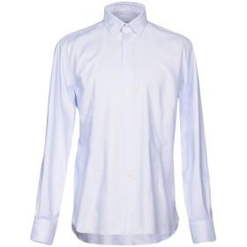 《セール開催中》BRANCACCIO C. メンズ シャツ スカイブルー 43 コットン 100%