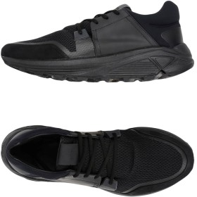《セール開催中》ETQ AMSTERDAM メンズ スニーカー&テニスシューズ(ローカット) ブラック 40 革 / 紡績繊維