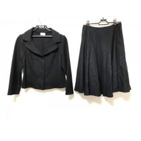 【中古】 ホコモモラ JOCOMOMOLA スカートスーツ サイズ42 L レディース 黒