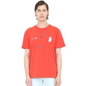 【グラニフ:トップス】グラニフ Tシャツ メンズ レディース 半袖 おばけのブルブル(荒井良二ショートスリーブティーA)