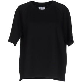 《セール開催中》ZOE KARSSEN レディース スウェットシャツ ブラック XS コットン 80% / ポリエステル 20%
