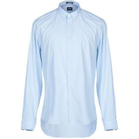 《セール開催中》OFFICINA 36 メンズ シャツ スカイブルー XL 紡績繊維