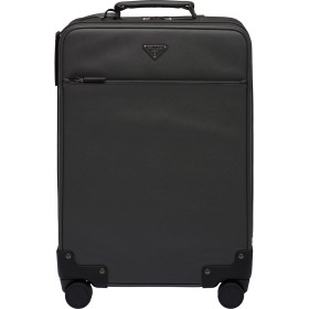 Prada スーツケース - ブラック