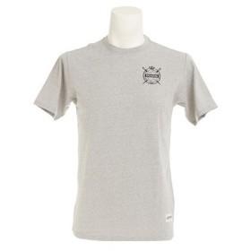 デュアリグ(DUARIG) 【多少の汚れ等訳あり大奉仕】バックプリント Tシャツ 863D7HD4806 GRY (Men's)