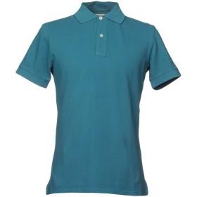 《セール開催中》HAMPTONS メンズ ポロシャツ ディープジェード S コットン 100%