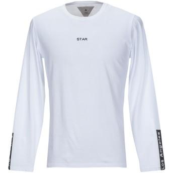 《セール開催中》MACCHIA J メンズ T シャツ ホワイト L コットン 100%