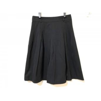 【中古】 ナラカミーチェ NARACAMICIE スカート サイズ2 M レディース 美品 黒