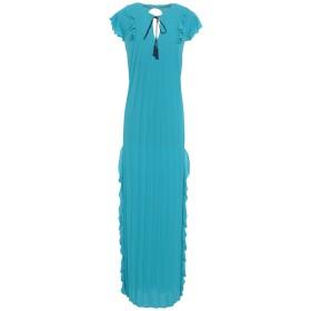 《期間限定 セール開催中》HANITA レディース ロングワンピース&ドレス ターコイズブルー S ポリエステル 100%