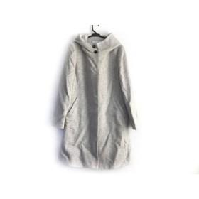 【中古】 アンタイトル UNTITLED コート サイズ4 XL レディース ライトグレー 冬物