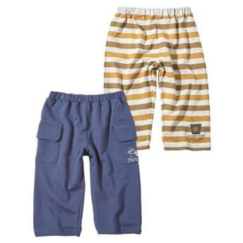 やわらかハーフパンツ2枚組(男の子 子供服) パンツ