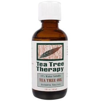 ティーツリーオイル、2液量オンス(60 ml)
