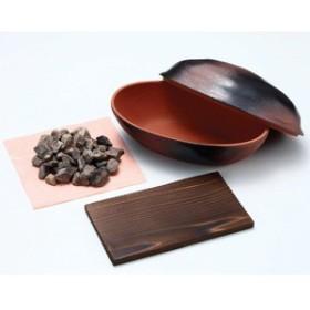 5000円以上送料無料 電子レンジで石焼きいも鍋 天然石使用 日本製 生活用品・インテリア・雑貨:キッチン・食器:その他のキッチン・食器