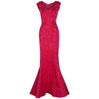 《セール開催中》ZAC POSEN レディース ロングワンピース&ドレス フューシャ 2 ポリエステル 54% / ナイロン 43% / ポリウレタン 3%