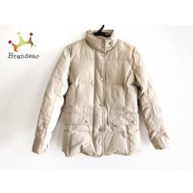 ブルックスブラザーズ ダウンジャケット サイズ2 S レディース 美品 ベージュ ジップアップ/冬物 新着 20190408