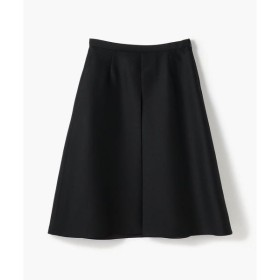 TOMORROWLAND / トゥモローランド ウールシルクツイル ボックスプリーツスカート