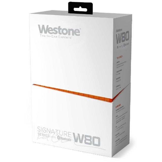 ブルートゥースイヤホン カナル型 Westone Wシリーズ W80-2019/R [リモコン対応 /ワイヤレス(左右コード) /防滴 /Bluetooth]