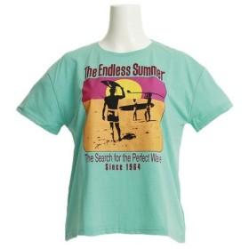 The Endless Summer 【多少の汚れ等訳あり大奉仕】半袖Tシャツ TESL005 SAX (Lady's)