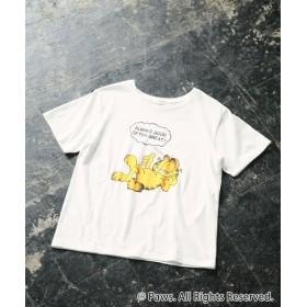 (LEPSIM/レプシィム)GarfieldコラボT/ [.st](ドットエスティ)公式