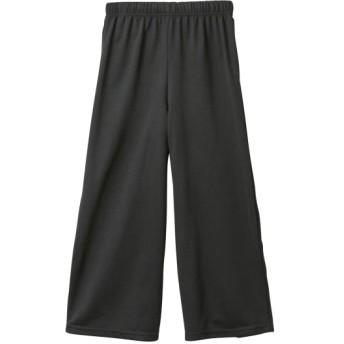 ミニ裏毛8分丈ワイドパンツ(女の子 子供服。ジュニア服) パンツ