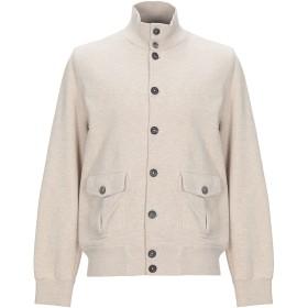 《期間限定セール開催中!》CIRCOLO 1901 メンズ スウェットシャツ ベージュ M コットン 100%