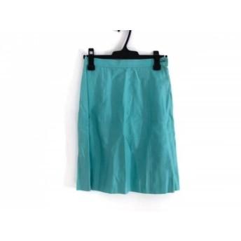 【中古】 ハロッズ HARRODS ミニスカート サイズ3 L レディース ライトブルー