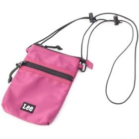 ピンクアドベ Lee(R)別注 ミニマルチショルダーバッグ レディース ラズベリーピンク(073) 00 【pink adobe】