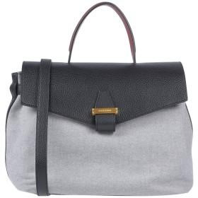 《期間限定セール中》VISONE レディース ハンドバッグ グレー 革 / 紡績繊維