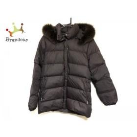 モンクレール MONCLER ダウンジャケット サイズ0 XS レディース - ダークブラウン 冬物  値下げ 20190419