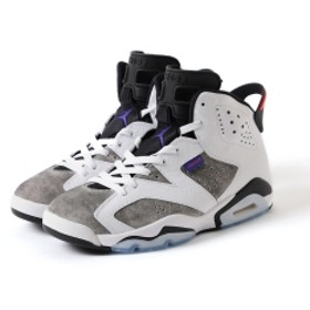 NIKE / Air Jordan 6 Retro Flight Nostalgia メンズ スニーカー WHITE 25
